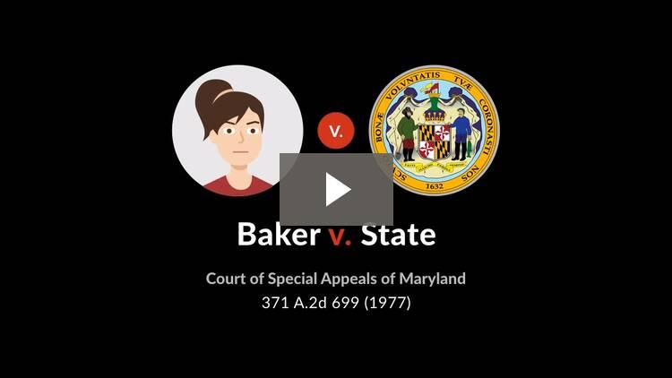 Baker v. State