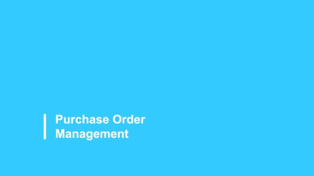 Purchase Order Management 2021