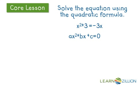 how to solve a linear equation with a square root