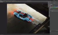 Thumbnail for Car Retouching / Car Retouching: High Median Workflow
