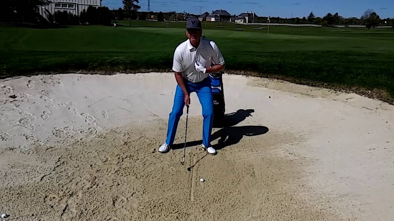 """Find Your """"Divot"""" in the Sand to Hit Consistent Shots"""