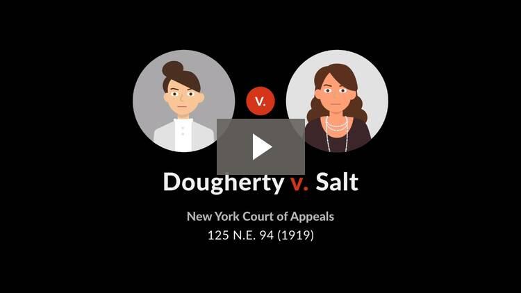 Dougherty v. Salt