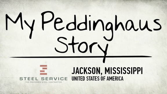 My Peddinghaus Story - Steel Service Corporation - Jackson, Mississippi - USA