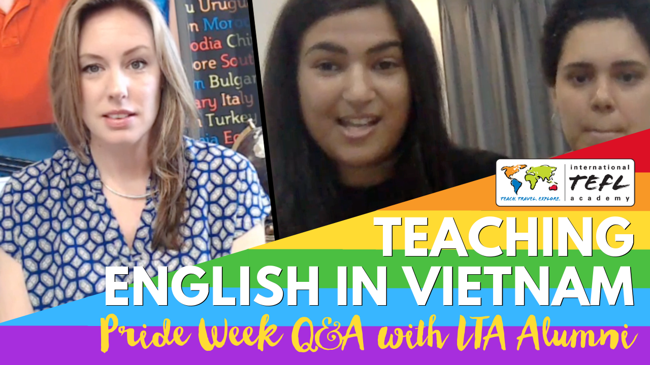 LGBTQ+ Teaching English in Hanoi, Vietnam - Q&A with Kim & Caira