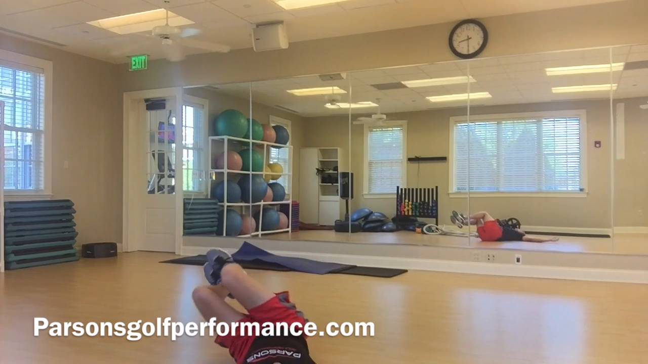 Activate Your Golf Muscles By Doing This