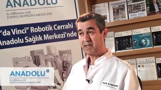 Prostat Kanserinde Robotik Cerrahi kullanımı