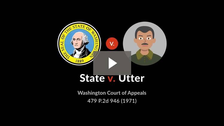 State v. Utter