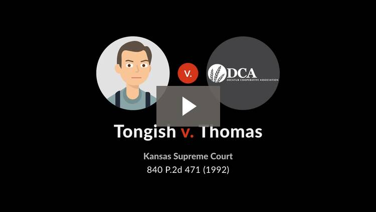 Tongish v. Thomas
