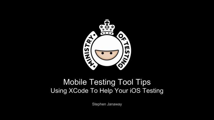 iOS Testing Using XCode