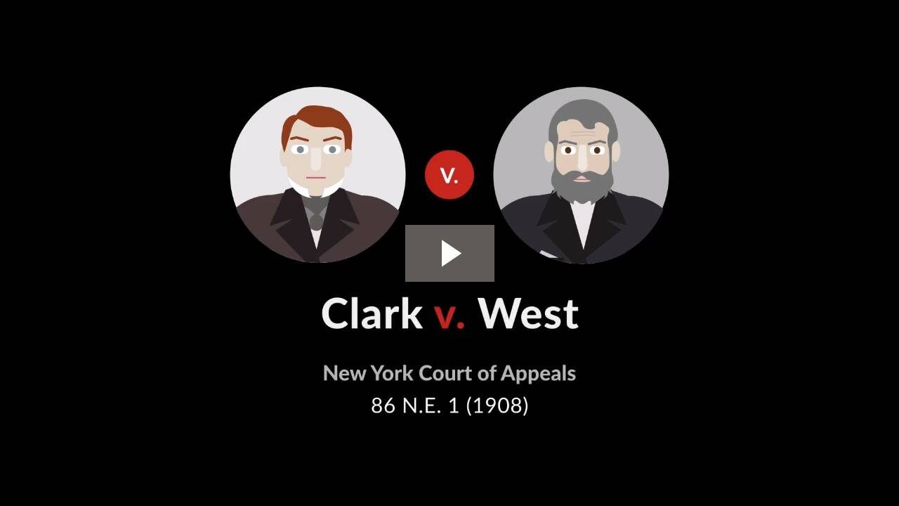 Clark v. West