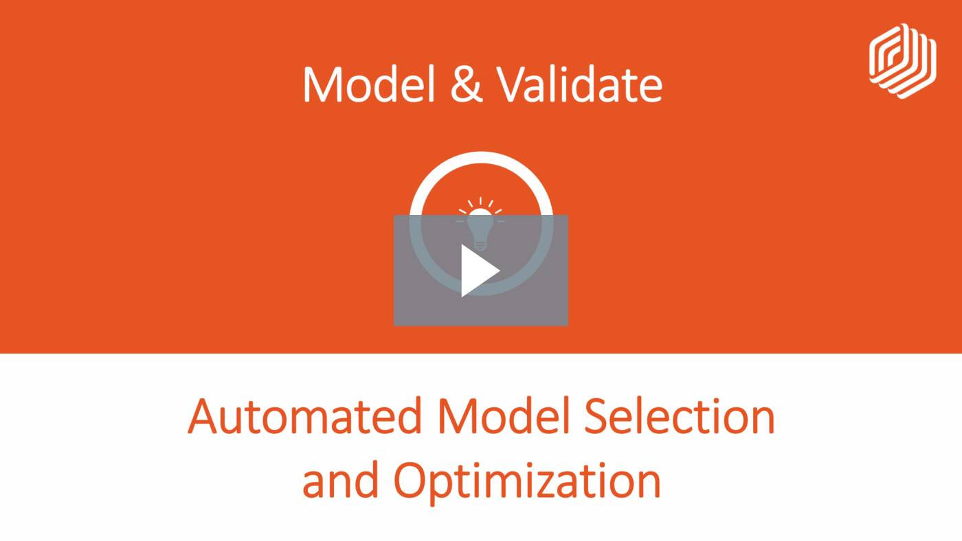 Automated Model Selection and Optimization