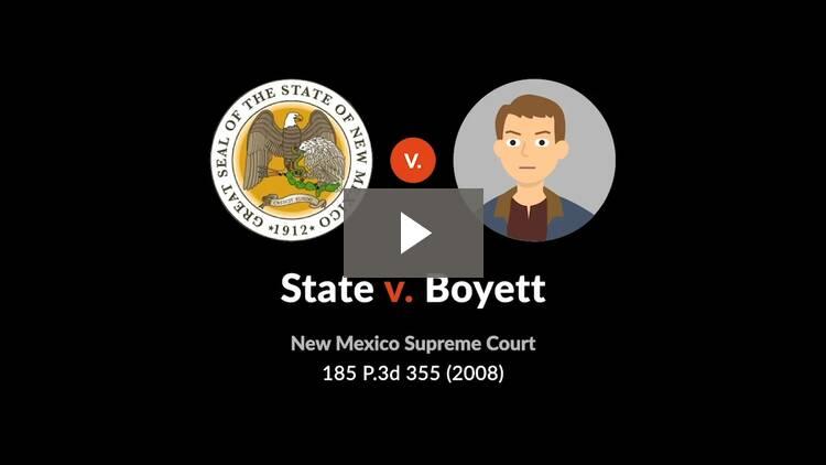 State v. Boyett