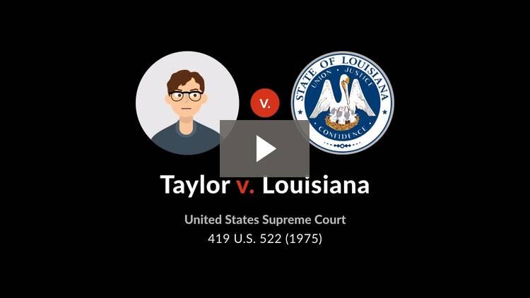 Taylor v. Louisiana