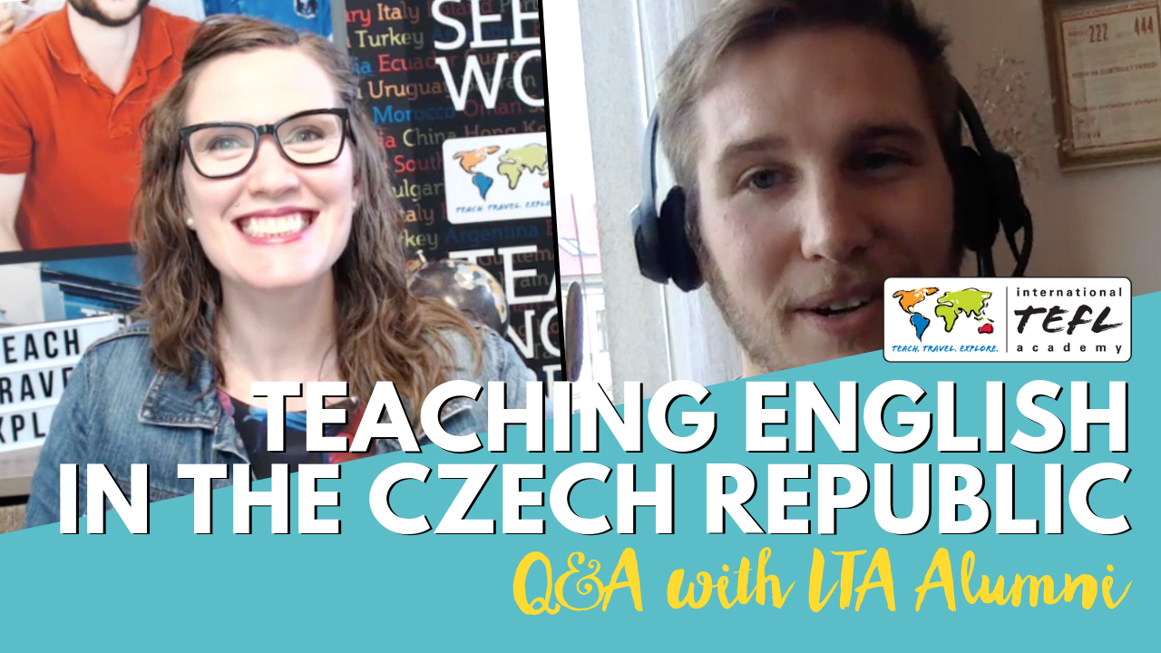 Teaching English in the Czech Republic - Alumni Q&A with Tanner LeTourneau