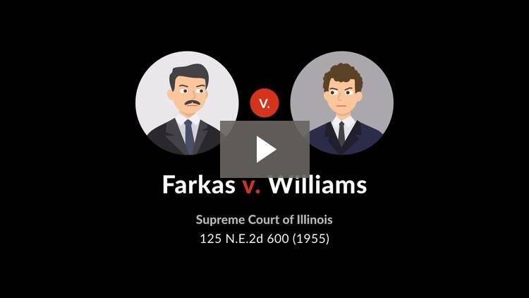 Farkas v. Williams
