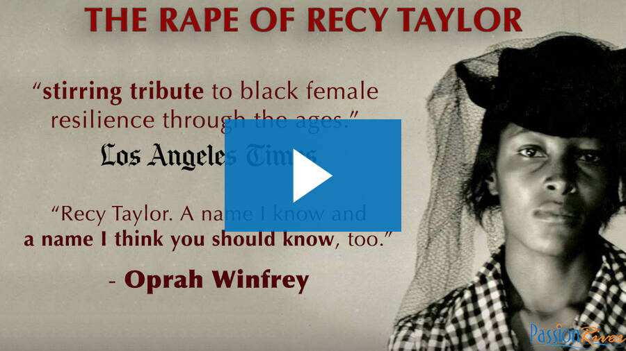Passion River - The Rape Of Recy Taylor Official Trailer