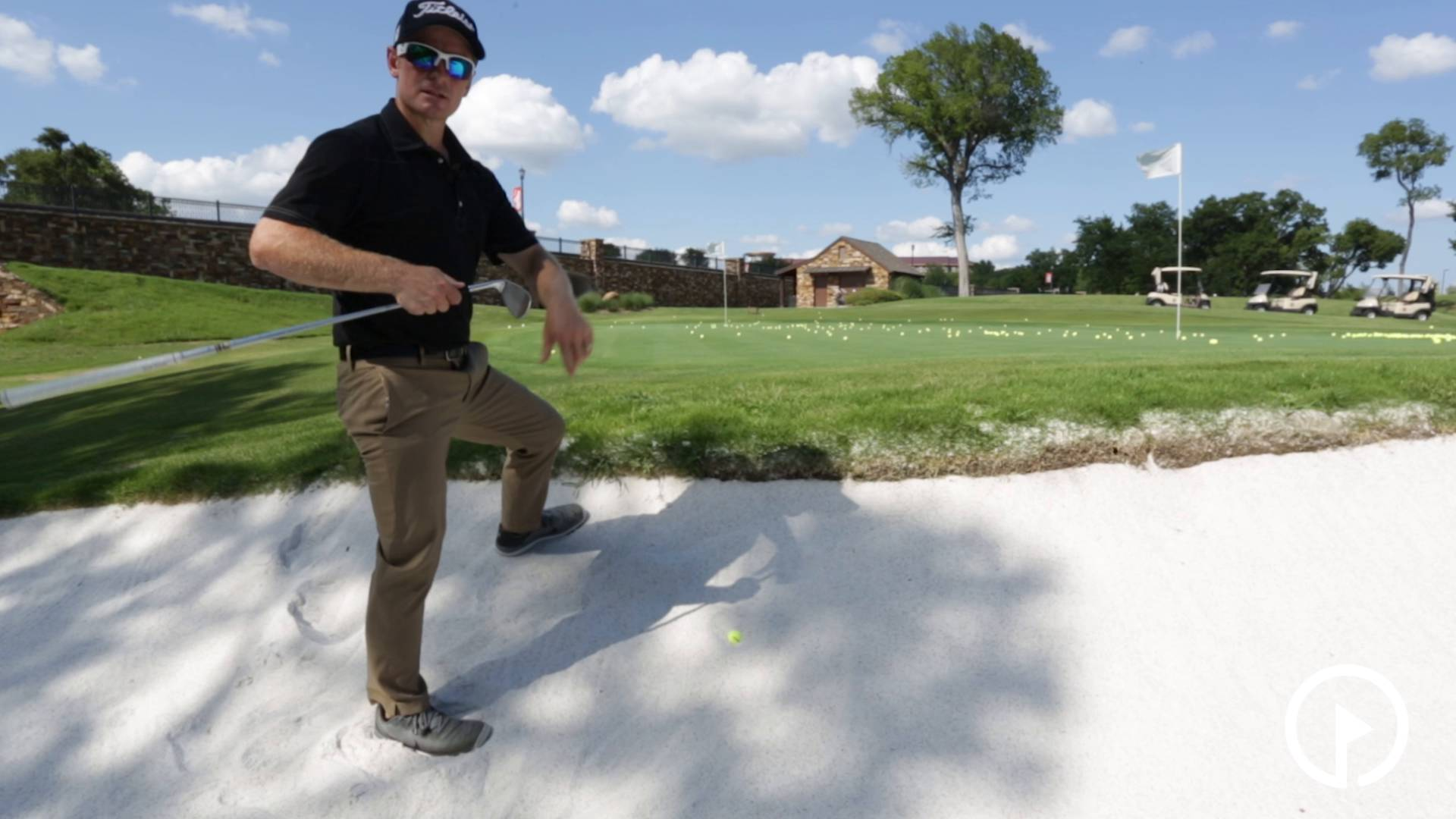 How to Hit a Plugged Lie from the Sand