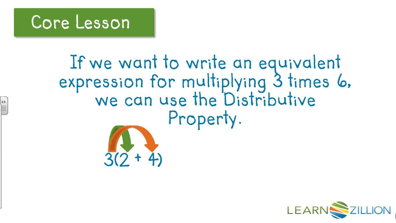 math worksheet : learnzillion : Distributive Property Of Multiplication Over Addition Worksheets