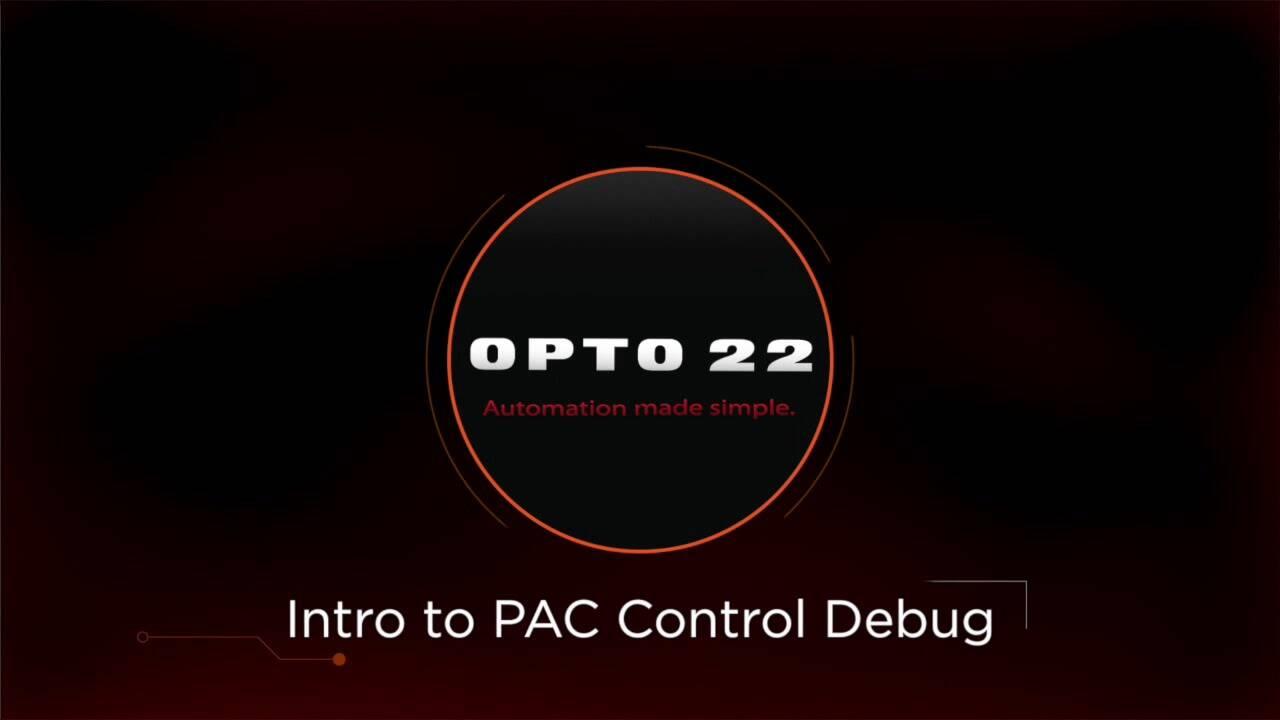 PAC Control Debug - Introduction