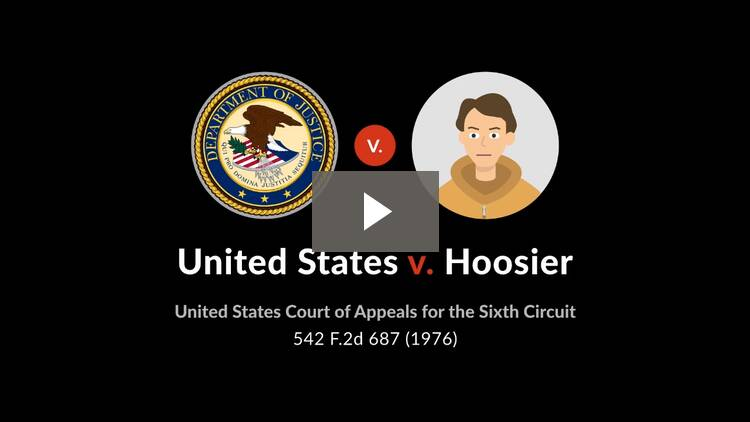 United States v. Hoosier