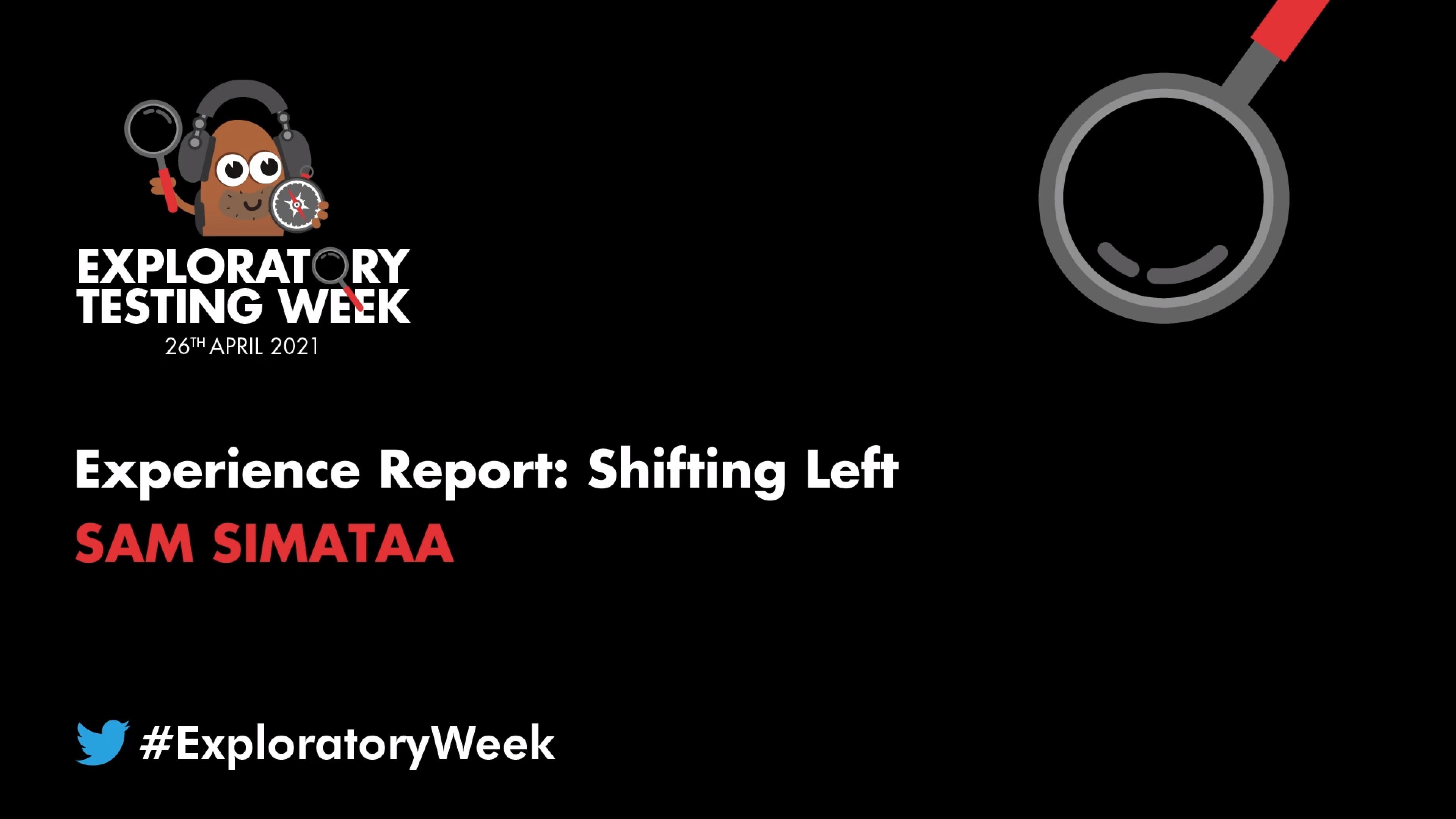 Experience Report: Shifting Left Challenge with Sam Simataa