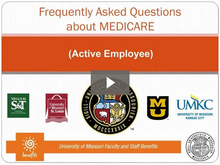 Video: Frequently Asked Questions about Medicare, for active employees
