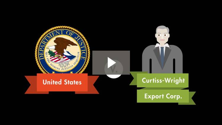 United States v. Curtiss-Wright Export Corp.