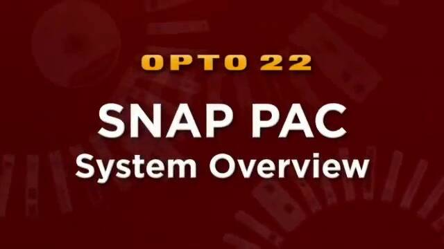 (Spanish) SNAP PAC System Overview from Opto 22