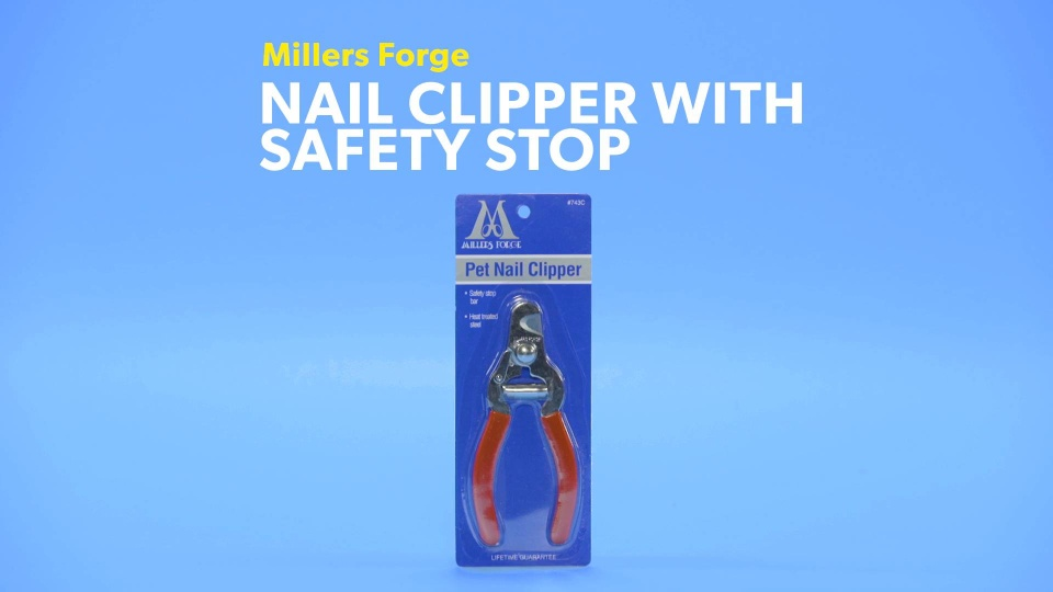 Millersforge Nailclipperwithsafetystop Dog R0