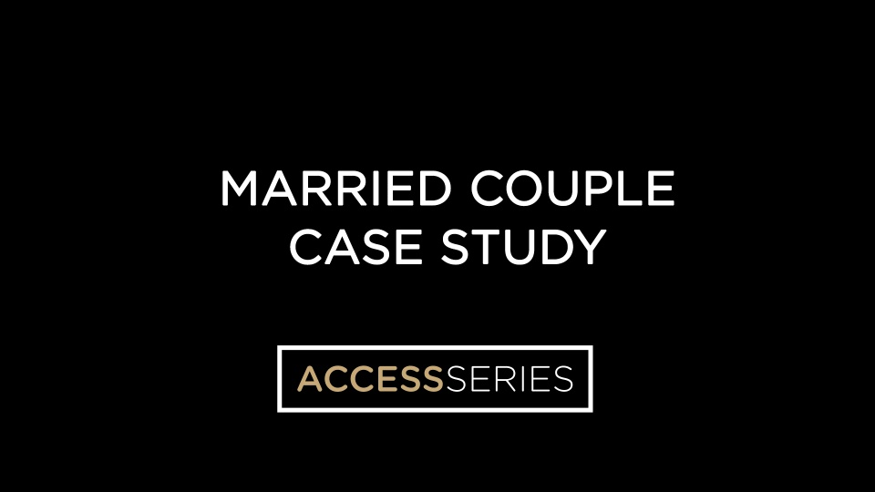 Married Couple Case Study