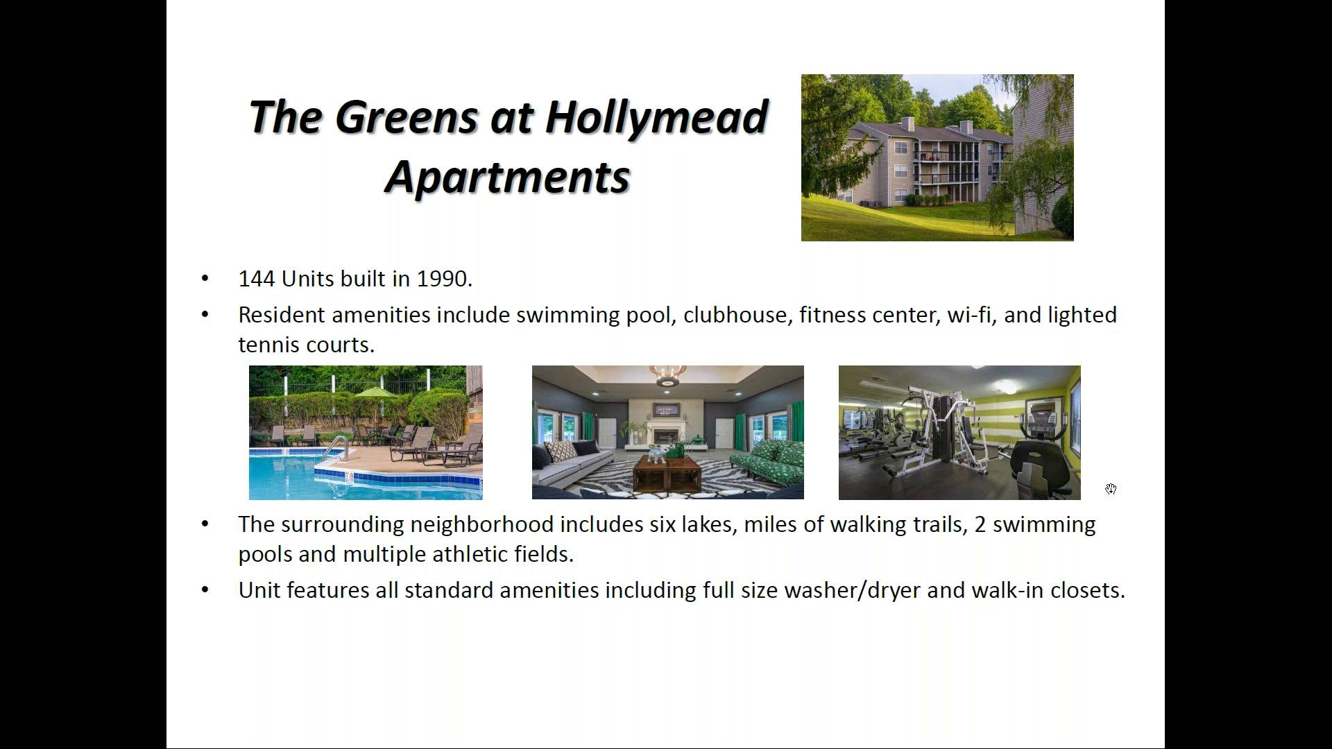 Investment Video - The Greens at Hollymead Apartments