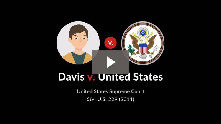 Davis v. United States