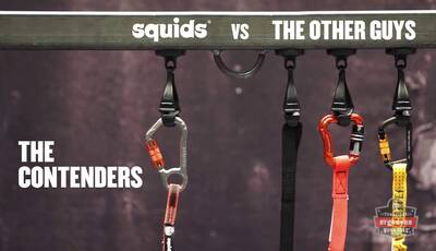 Squids® Tool Lanyards Reduce Force in Drops Tests - Demo