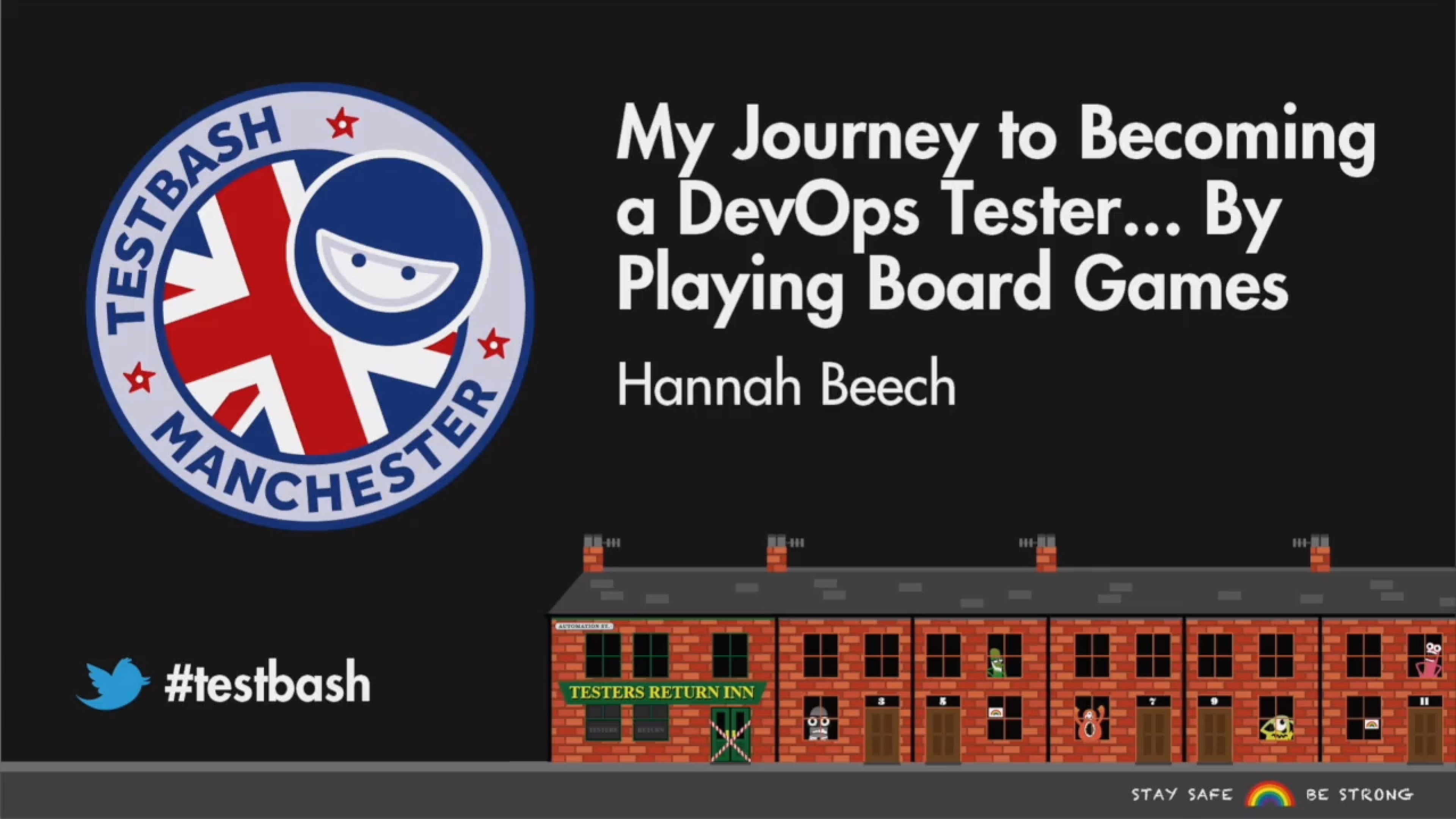 My Journey to Becoming a DevOps Tester... By Playing Board Games - Hannah Beech