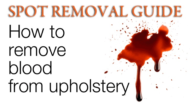 Types Of Upholstery Before You Try And Remove A Blood Stain