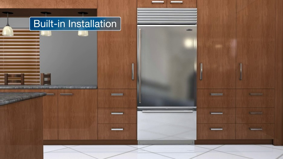 Beautiful Built In Refrigeration Installation Videos
