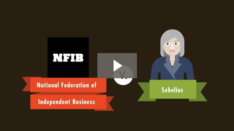 National Federation of Independent Business v. Sebelius
