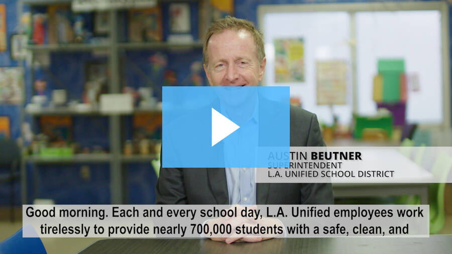 Superintendent's Message - October 15, 2018