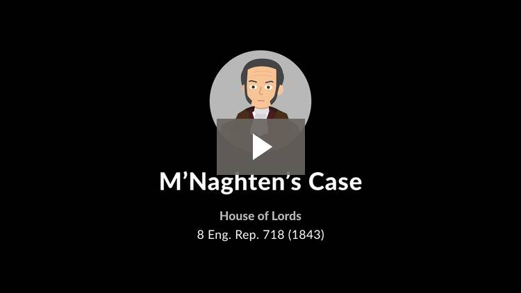 M'Naghten's Case