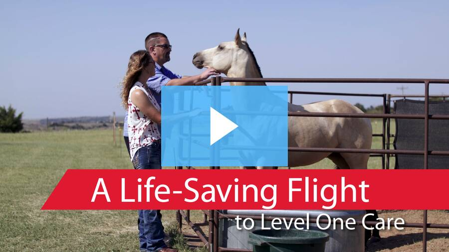 At a Moment's Notice | A Life-Saving Flight to Level One Care