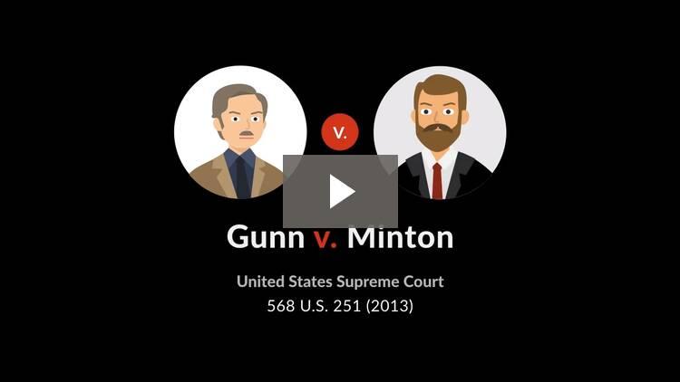 Gunn v. Minton