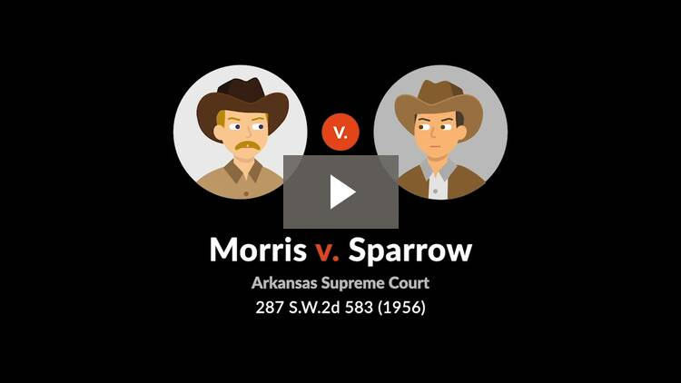Morris v. Sparrow