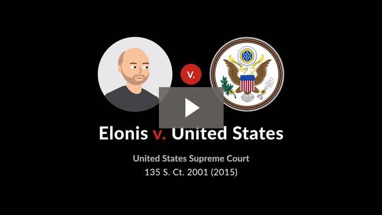 Elonis v. United States