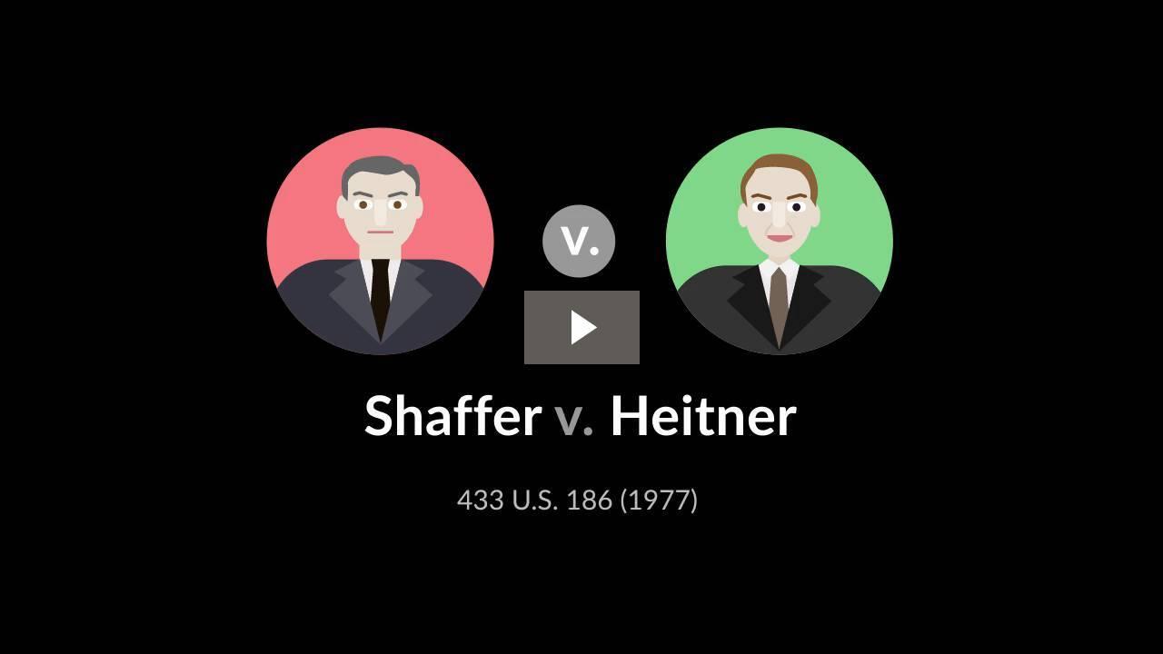 Shaffer v. Heitner