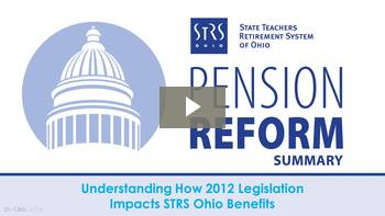 Thumbnail for Pension Reform Summary Webinar.