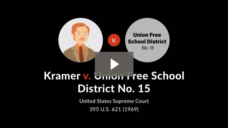 Kramer v. Union Free School District