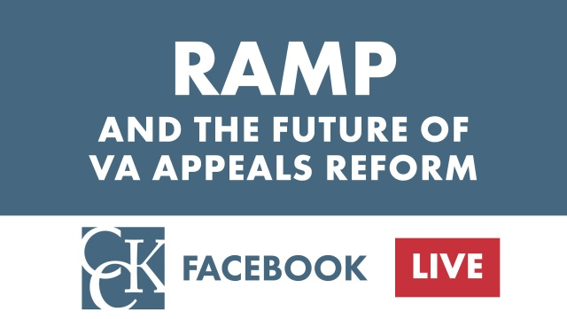 VA Appeals Reform: RAMP in Review (Jan. 2019)