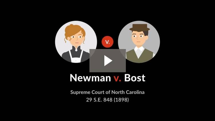 Newman v. Bost