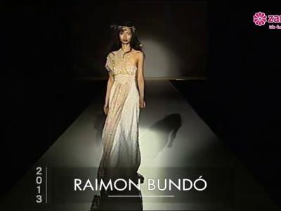 Pasarela 2013 con vestidos de novia asimétricos