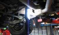 Oxygen Sensor Replacement On A Defender 90, Range Rover Or Discovery I video screen shot
